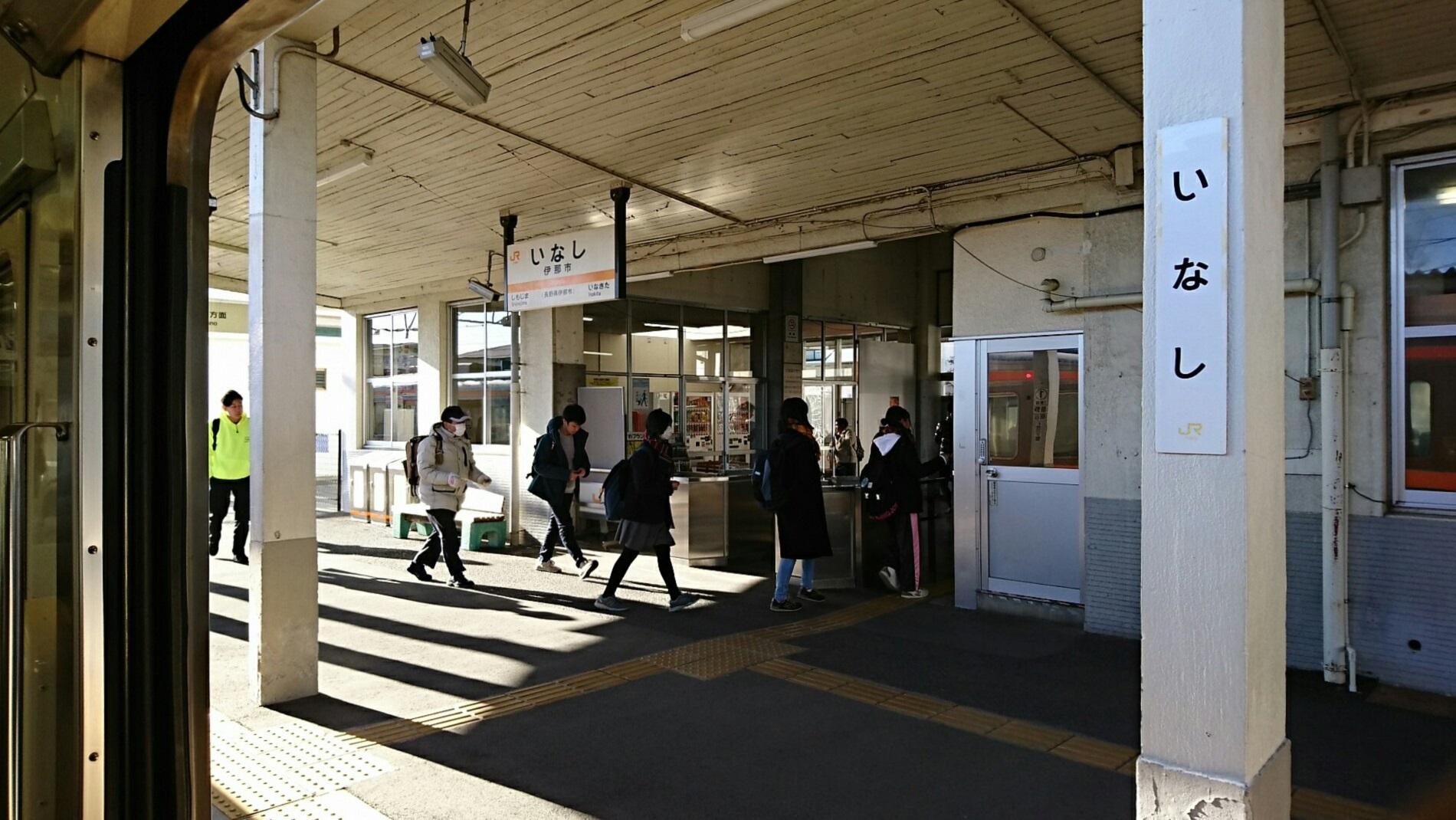 2019.1.24 (244) 茅野いきふつう - 伊那市 1900-1070