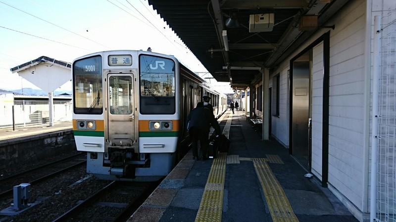 2019.1.24 (259) 伊那松島 - 茅野いきふつう 1850-1040