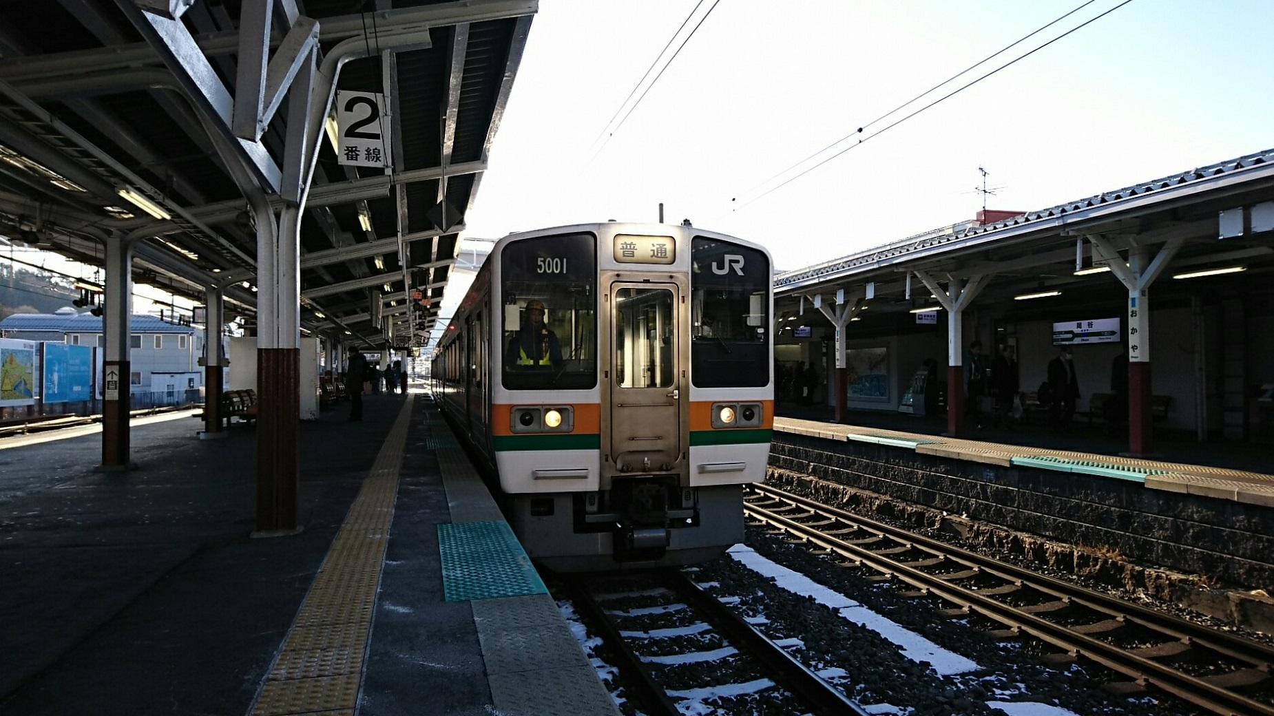 2019.1.24 (297) 岡谷 - 茅野いきふつう 1850-1040
