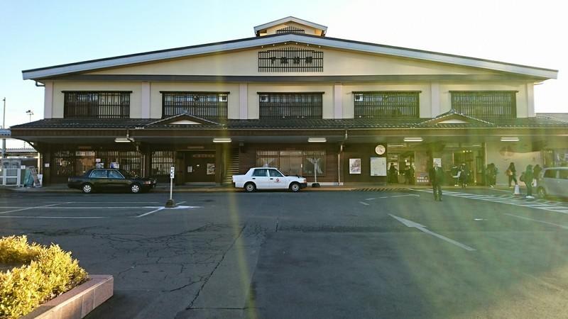 2019.1.24 (314) 下諏訪 - 駅舎 1850-1040