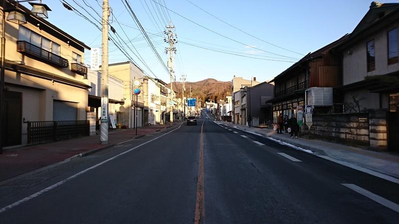 2019.1.24 (318) 下諏訪駅前交差点からひがしをみる 1920-1080
