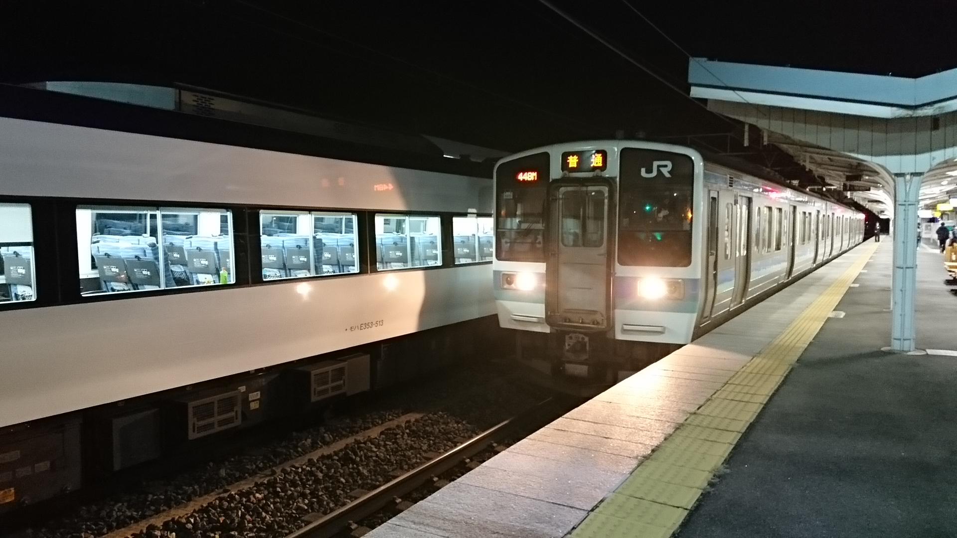 2019.1.24 (331) 下諏訪 - 甲府いきふつう 1920-1080