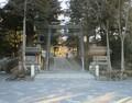 2019.1.25 (2) 諏訪大社下社秋宮 - とりい 1920-1500
