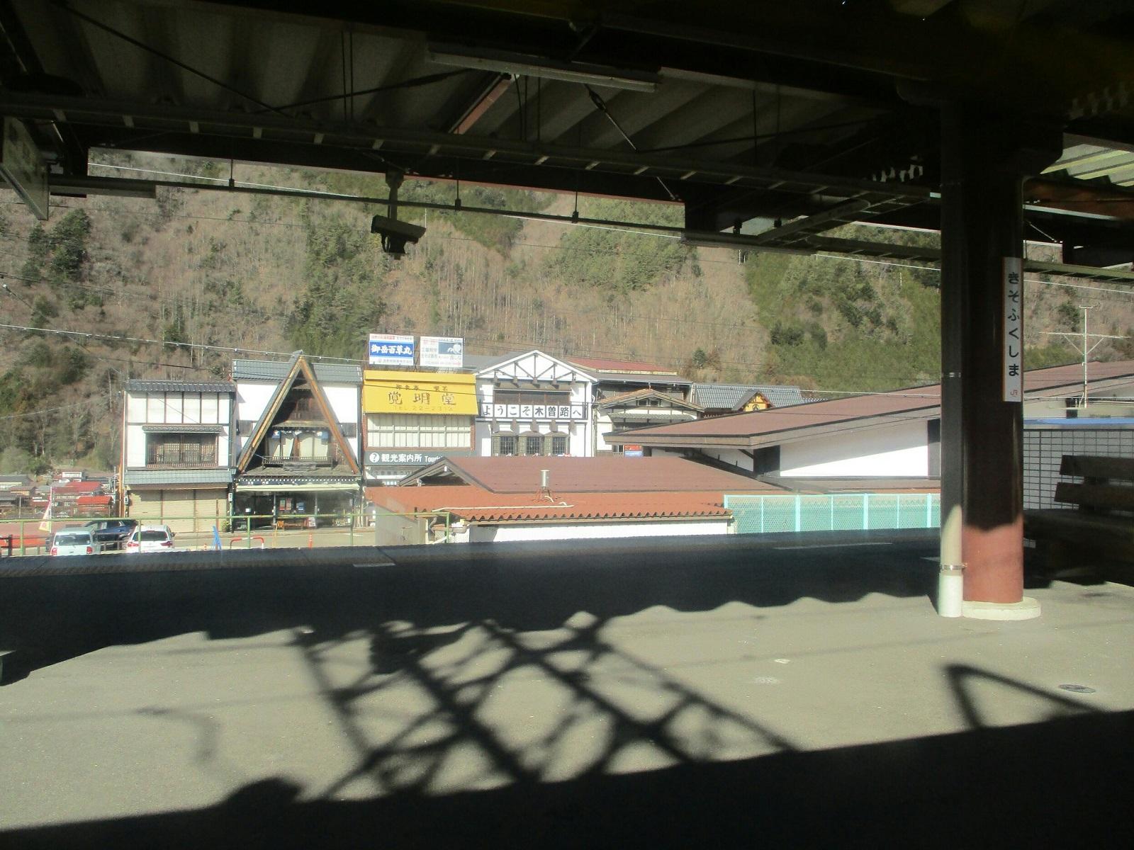2019.1.25 (20) 名古屋いきワイドビューしなの - 木曽福島 1600-1200