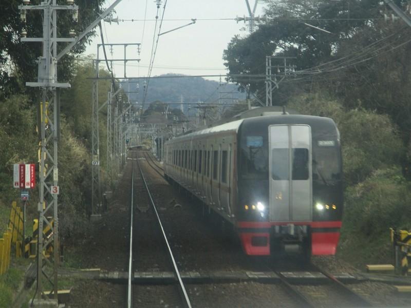 2019.2.10 (30) 豊橋いき快速特急 - 本宿名電長沢間(岐阜いき特急) 1600-120