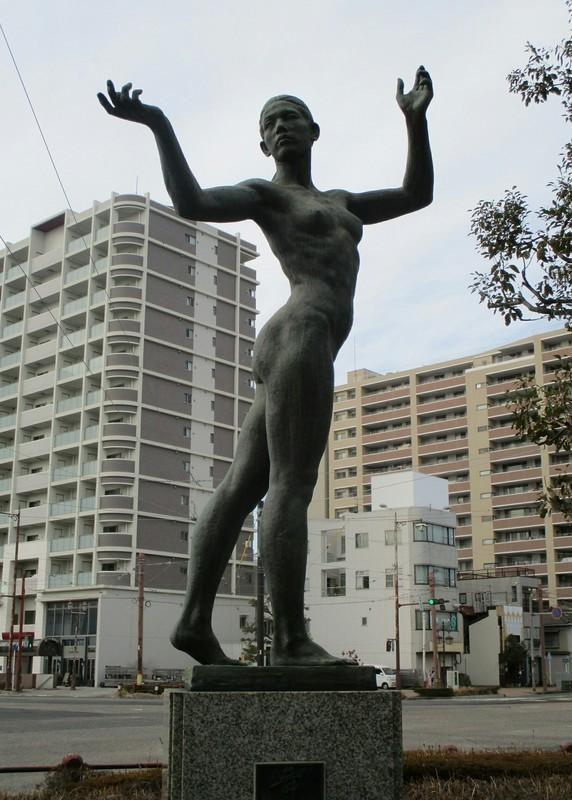 2019.2.10 (53) 新川交差点東南 - はだかのおんなの像 1430-2000