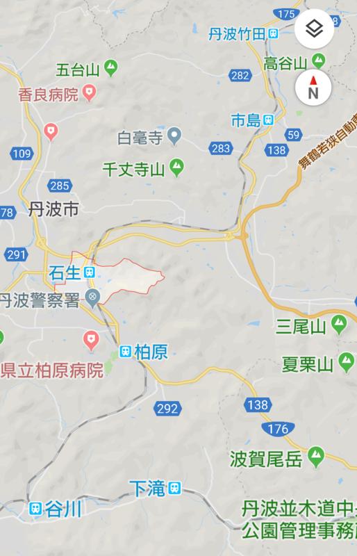 石生駅(いそうえき)位置図 1080-1680