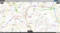 みわかれ公園周辺の地形図 1366-768