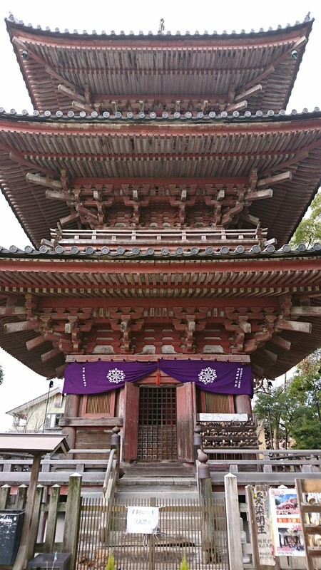2019.2.12 (6) 甚目寺 - 三重塔 1080-1920