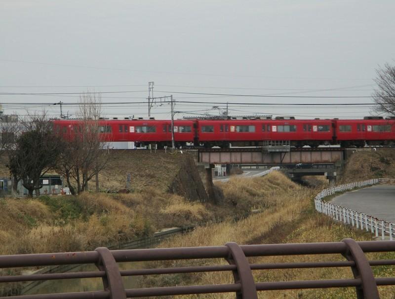 2019.2.15 (43) 南陽橋からにしいき名鉄電車をみる 1980-1500