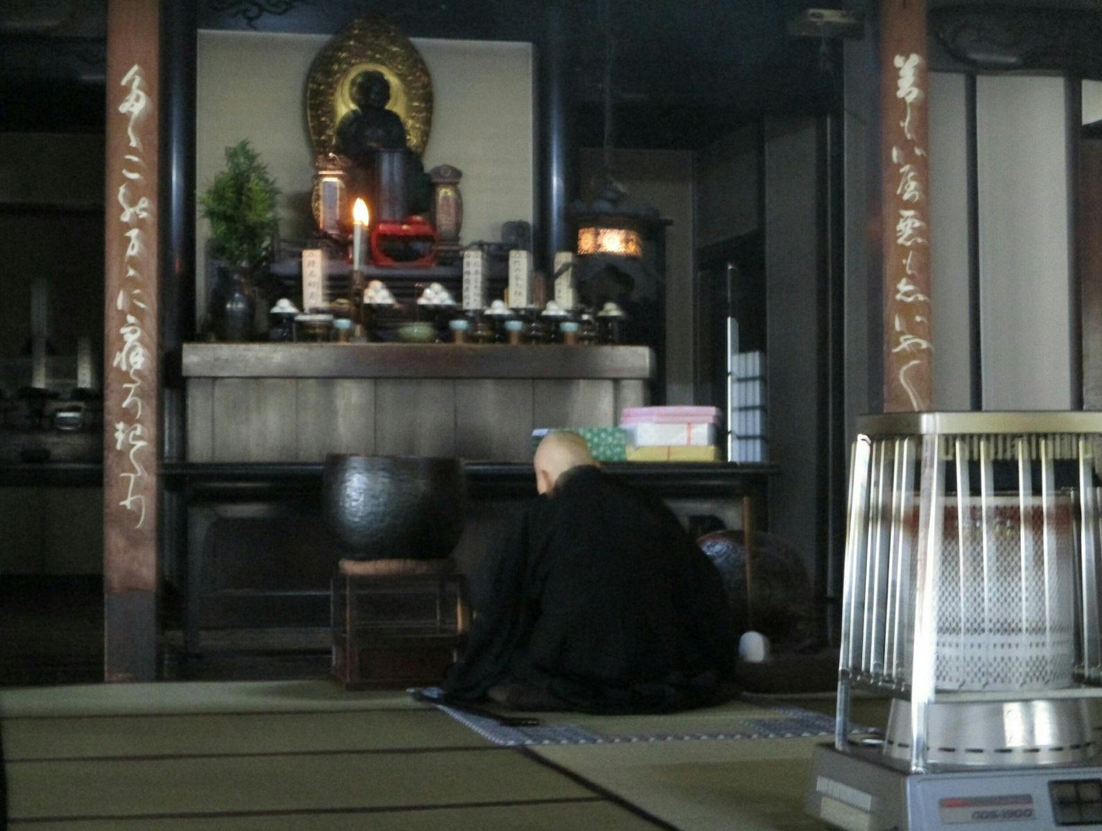2019.2.18 (9) 青大悲寺 - おきょう 1590-1200