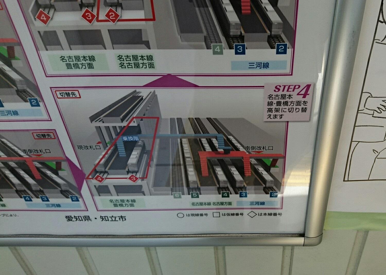 2019.2.26 (23) 知立駅の高架工事のすすめかた - 第4段階 1500-1070