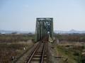 2019.3.1 (24) 樽見いきふつう - 揖斐川鉄橋 2000-1500