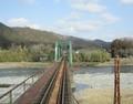 2019.3.1 (62) 樽見いきふつう - 第1根尾川鉄橋 1910-1500