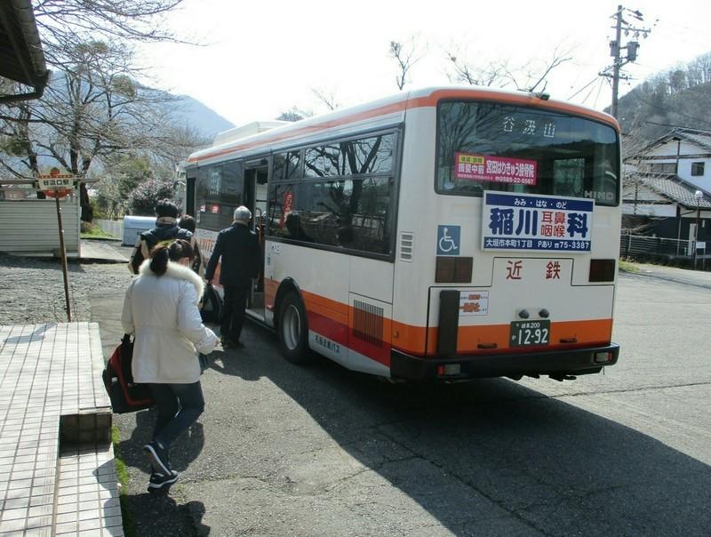 2019.3.1 (136) 谷汲口駅 - 谷汲山いきバス 1590-1200