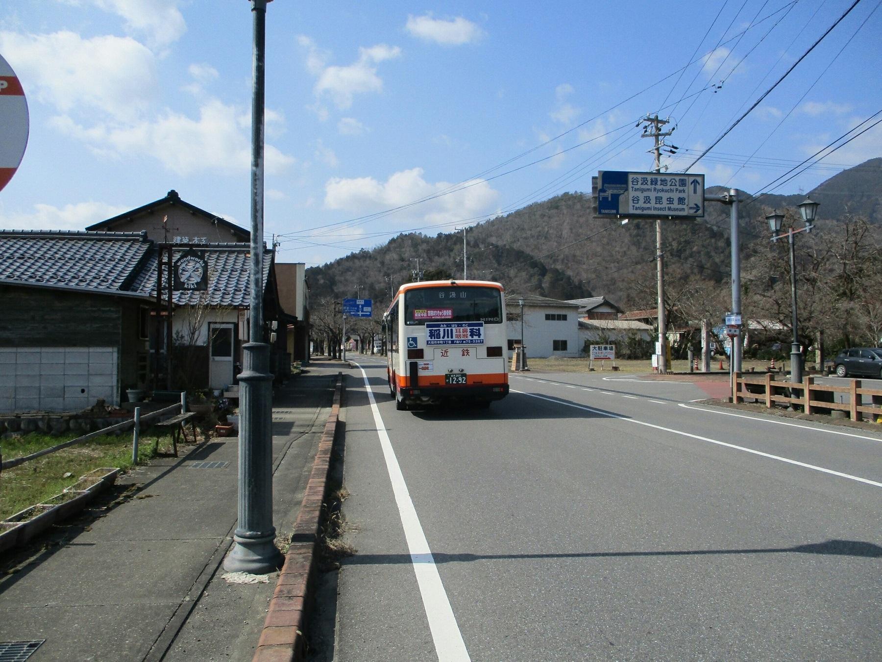 2019.3.1 (139) 谷汲バス停 - 谷汲山いきバス 1800-1350
