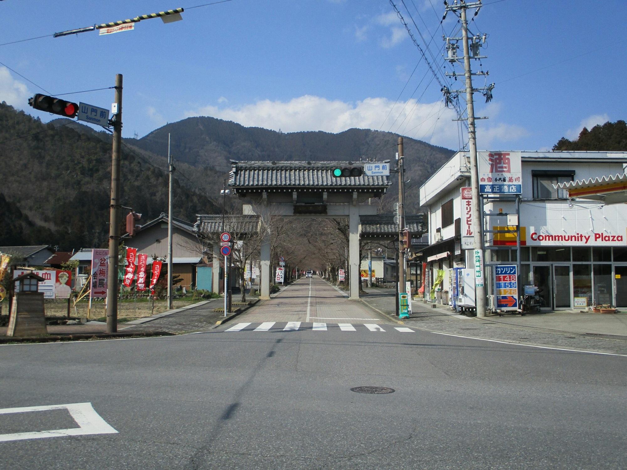 2019.3.1 (142) 谷汲山 - 山門 2000-1500