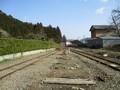 2019.3.1 (153) 旧名鉄谷汲駅 - 岐阜方面をみる 2000-1500