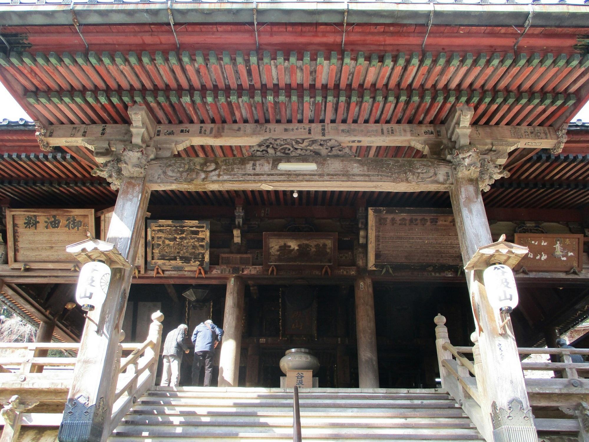 2019.3.1 (161) 谷汲山華厳寺 - 本堂 2000-1500