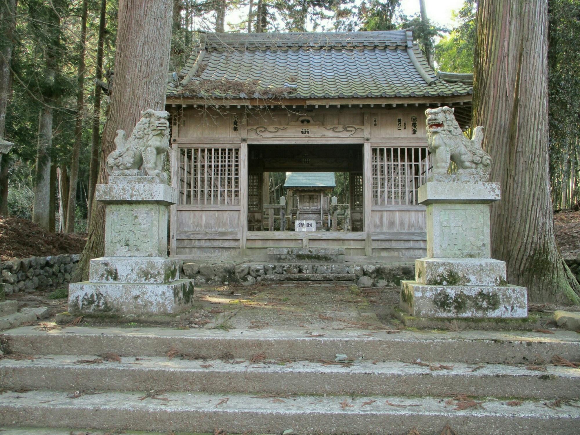 2019.3.1 (167) 谷汲山参道 - 八王子神社 2000-1500