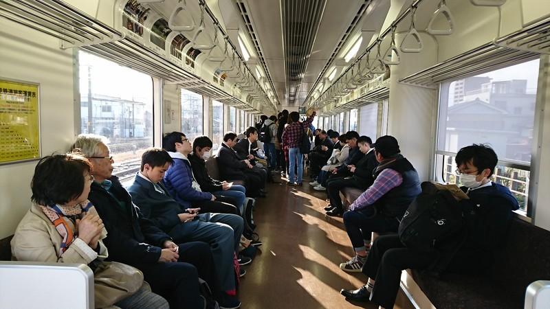 2019.3.1 (1011) 樽見鉄道大垣いきふつう - 大垣てまえ 1920-1080
