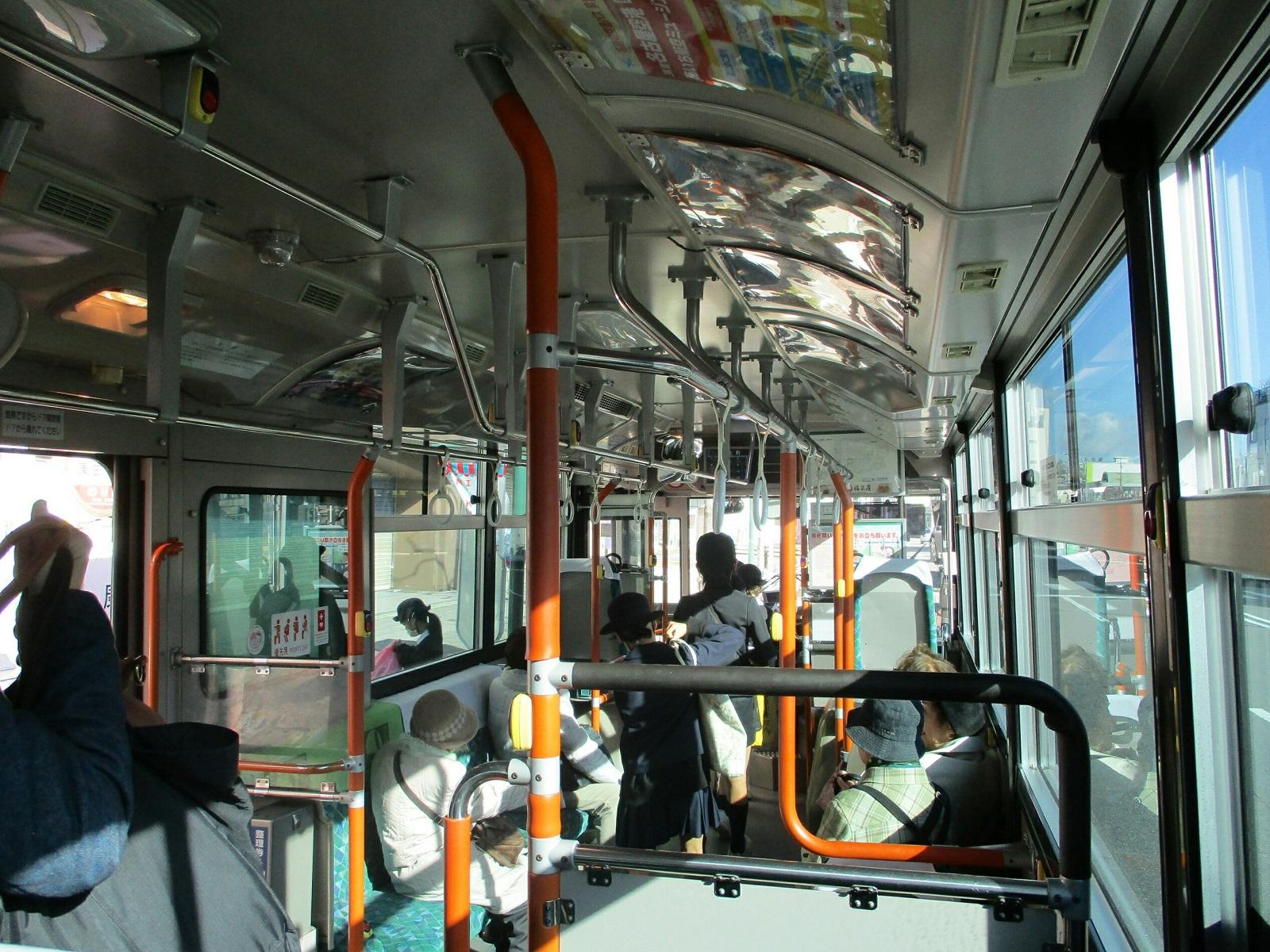 2019.3.7 (10) 奥殿陣屋いきバス - 康生町バス停 1600-1200