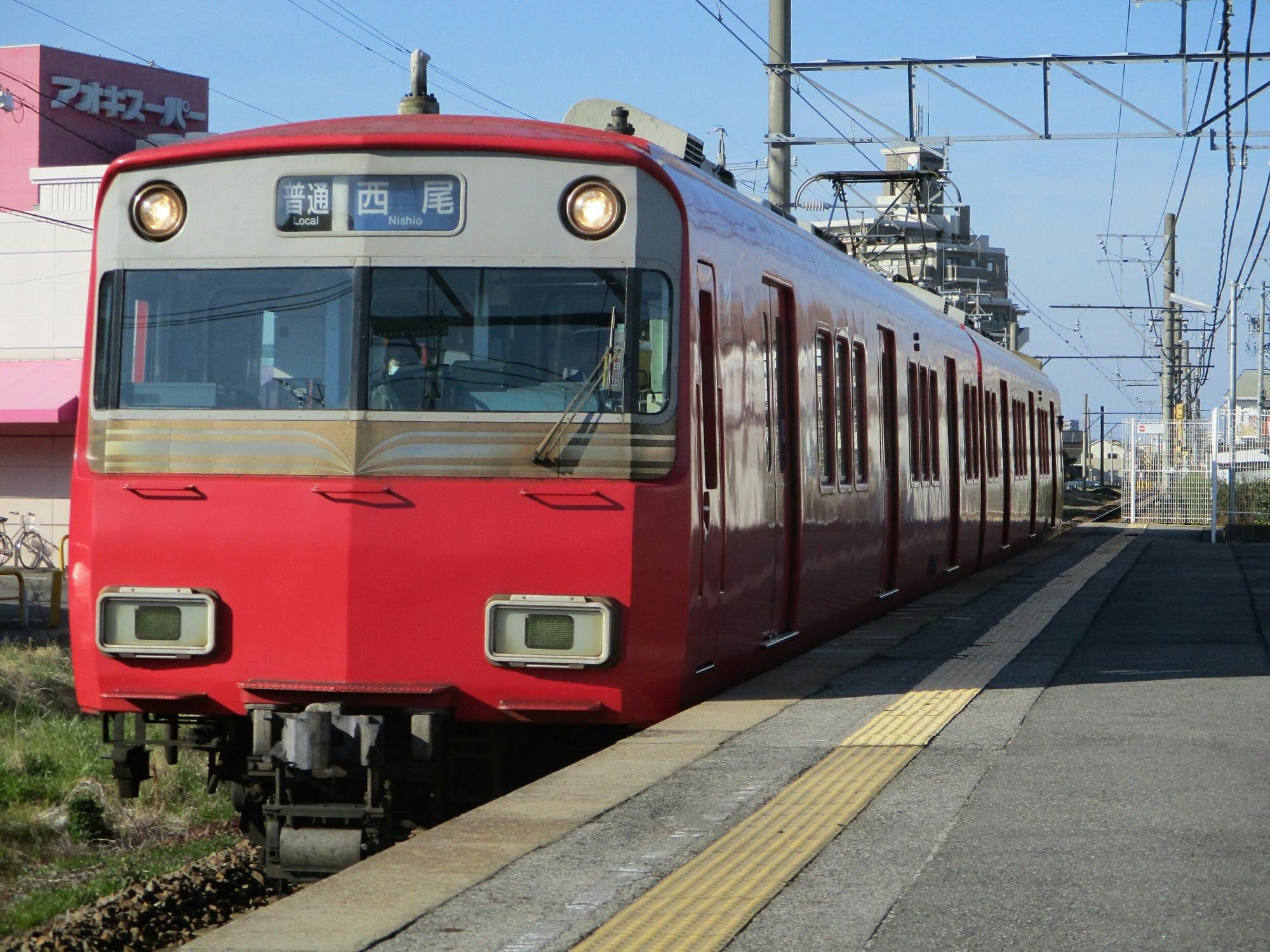 2019.3.9 15:45 ふるい - 西尾いきふつう 2000-1500