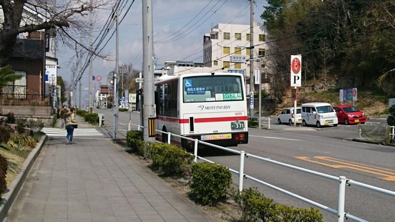 2019.3.12 (10) 梅園南バス停 - 大樹寺いきバス 1280-720