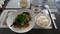 2019.3.12 (15) 城北飯店 - ぶたかたロース肉となのはなのオイスターソース