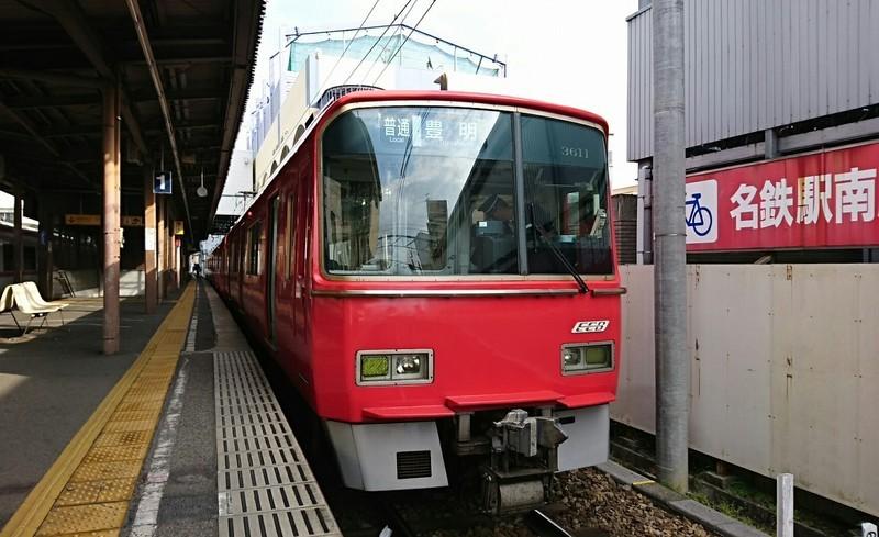 2019.3.12 (23) 東岡崎 - 豊明いきふつう 1700-1040