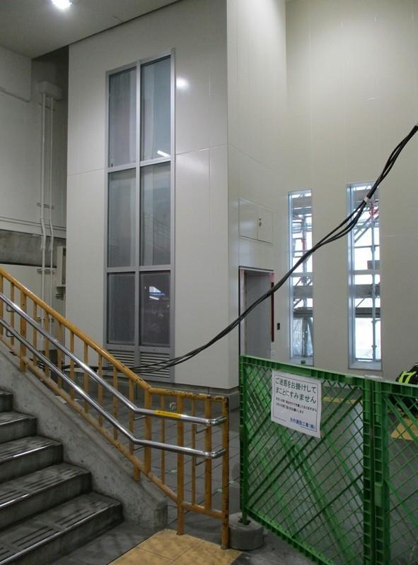 2019.3.15 (3) みなみあんじょう - エレベーター工事 1330-1800