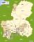 岐阜県の行政区域図(マピオン)