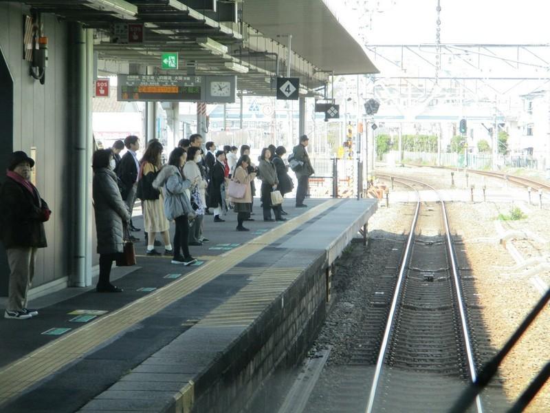 2019.3.18 (117) JR難波いきふつう - 八尾 1200-900