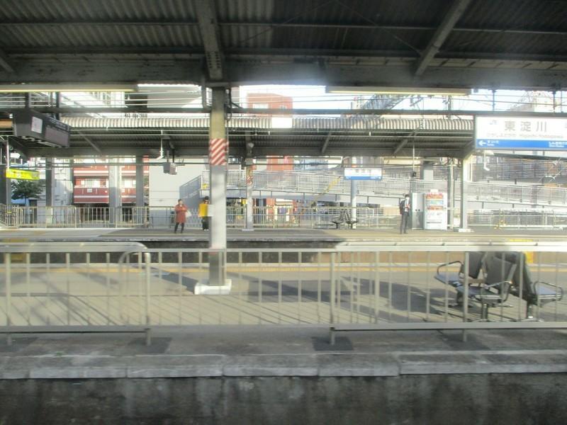 2019.3.18 (199) 新大阪いきふつう - 南吹田新大阪間(東淀川) 1600-1200