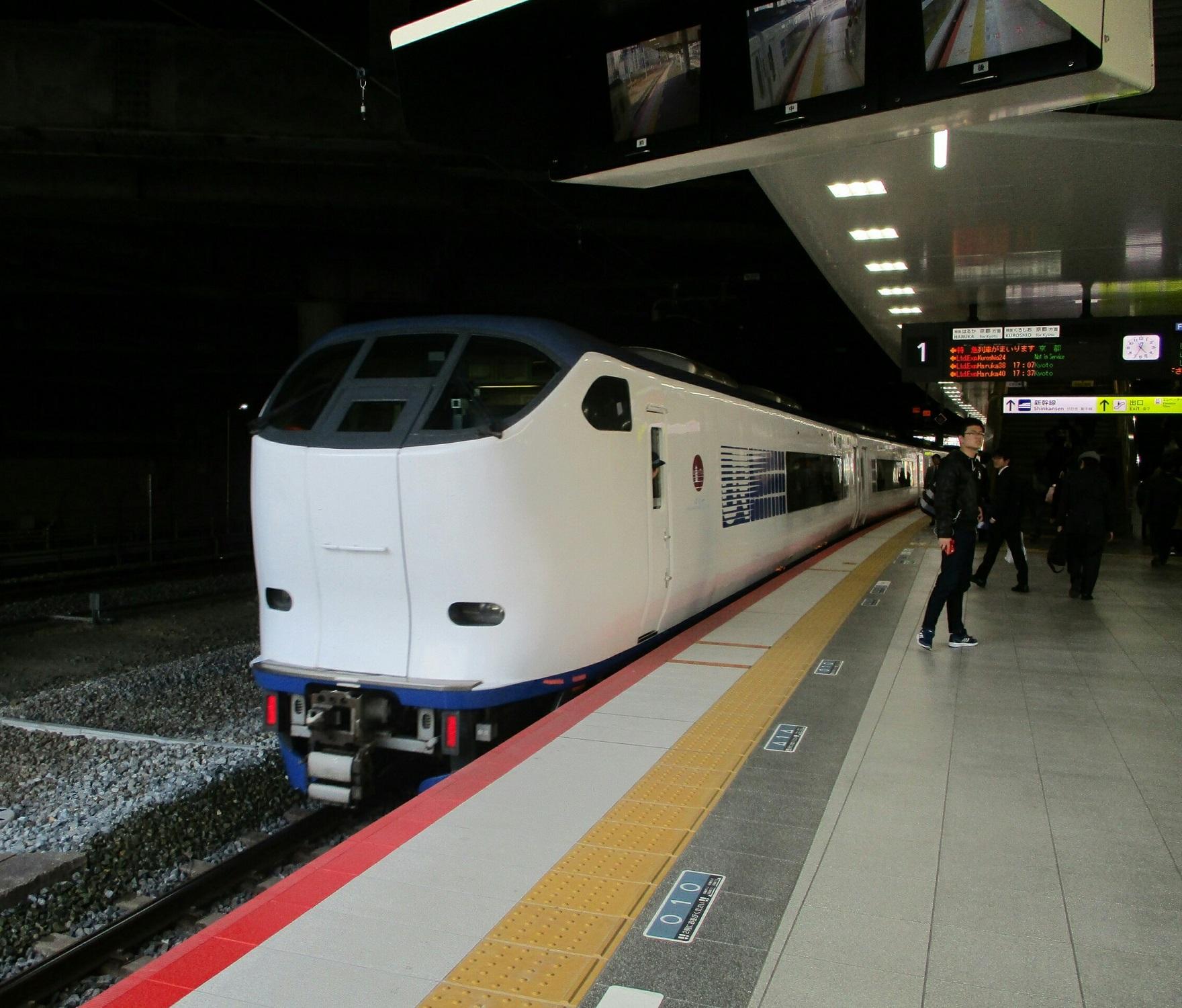 2019.3.18 (201) 新大阪 - はるか 1760-1500
