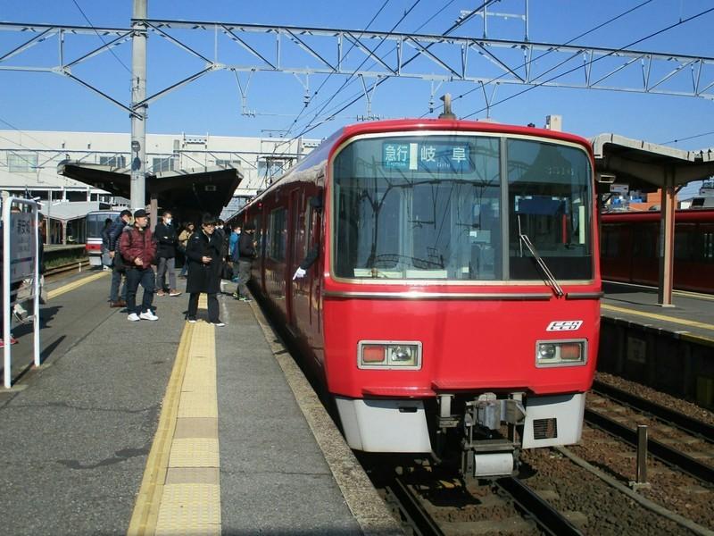 2019.3.20 (9) しんあんじょう - 岐阜いき急行(4番) 2000-1500