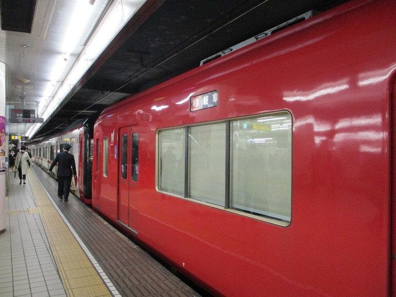2019.3.20 (12) 名古屋 - 岐阜いき特急 1600-1200