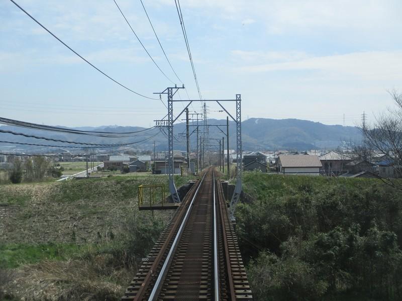 2019.3.26 (14) 吉良吉田いき急行 - 広田川をわたる 1800-1350