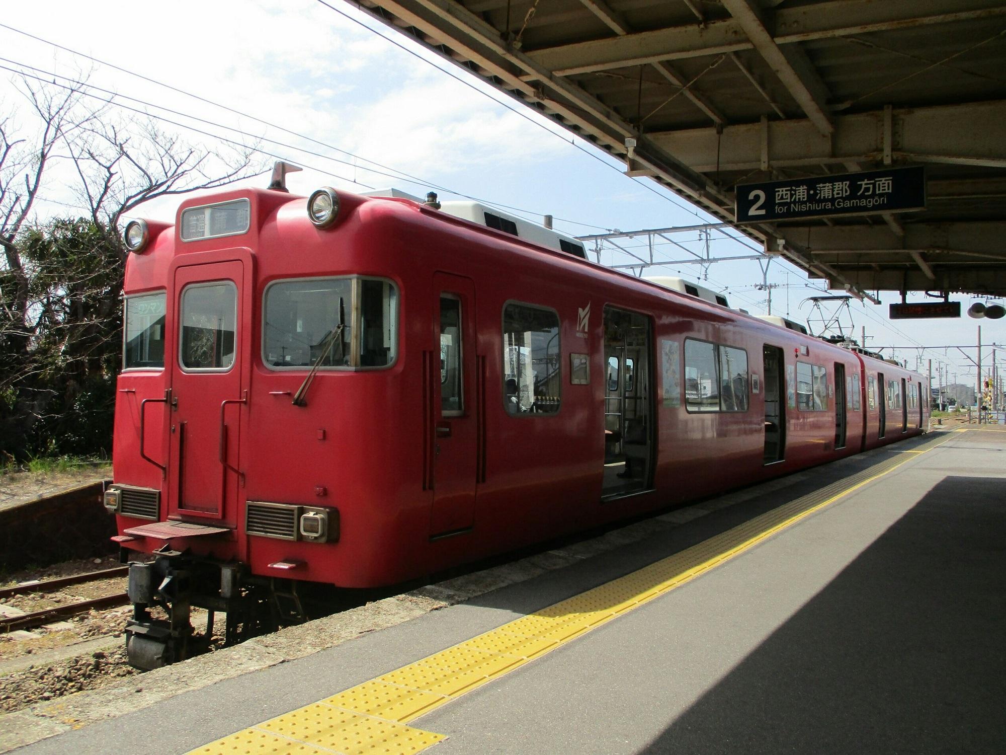 2019.3.26 (19) 吉良吉田 - 蒲郡いきふつう 2000-1500