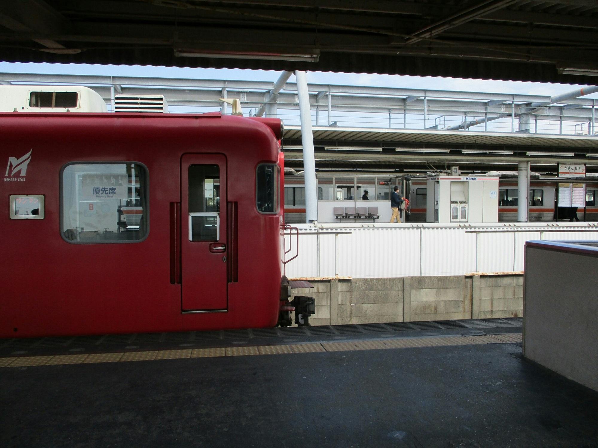 2019.3.26 (45) 蒲郡 - 蒲郡いきふつうと大垣いき新快速 2000-1500