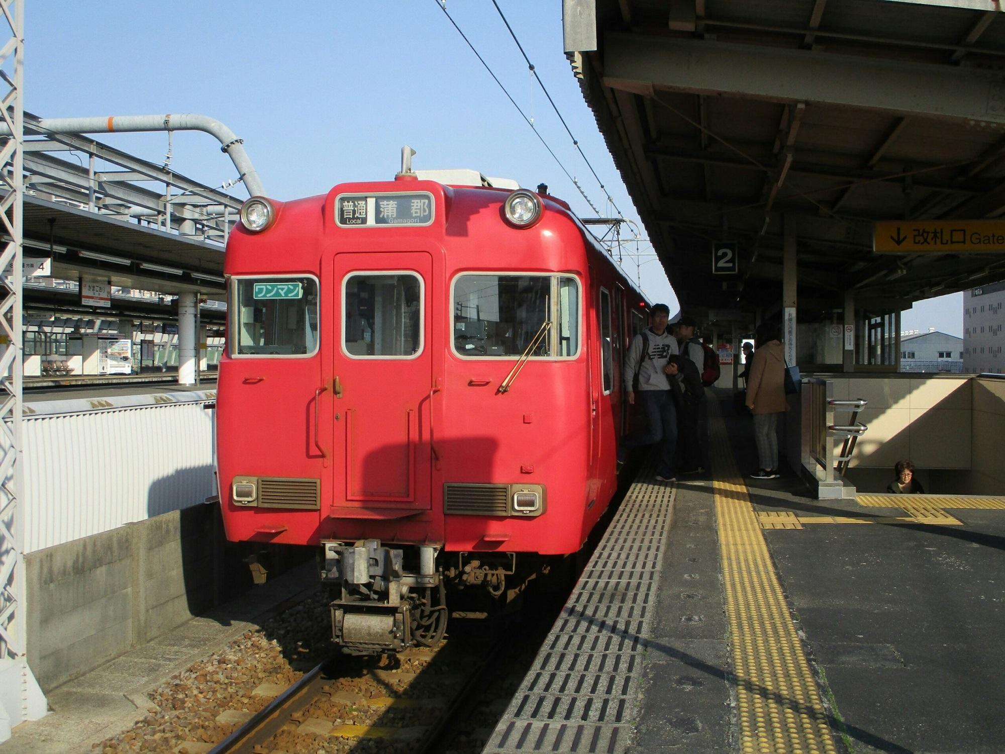 2019.3.26 (88) 蒲郡 - 蒲郡いきふつう 2000-1500