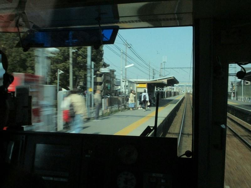 2019.3.27 (9) 岐阜いき特急 - 牛田 1200-900