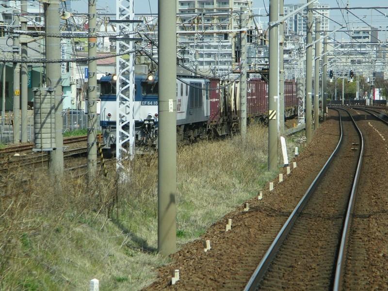 2019.3.27 (46) 弥富いき準急 - 神宮前金山間(JR貨物列車) 2000-1500