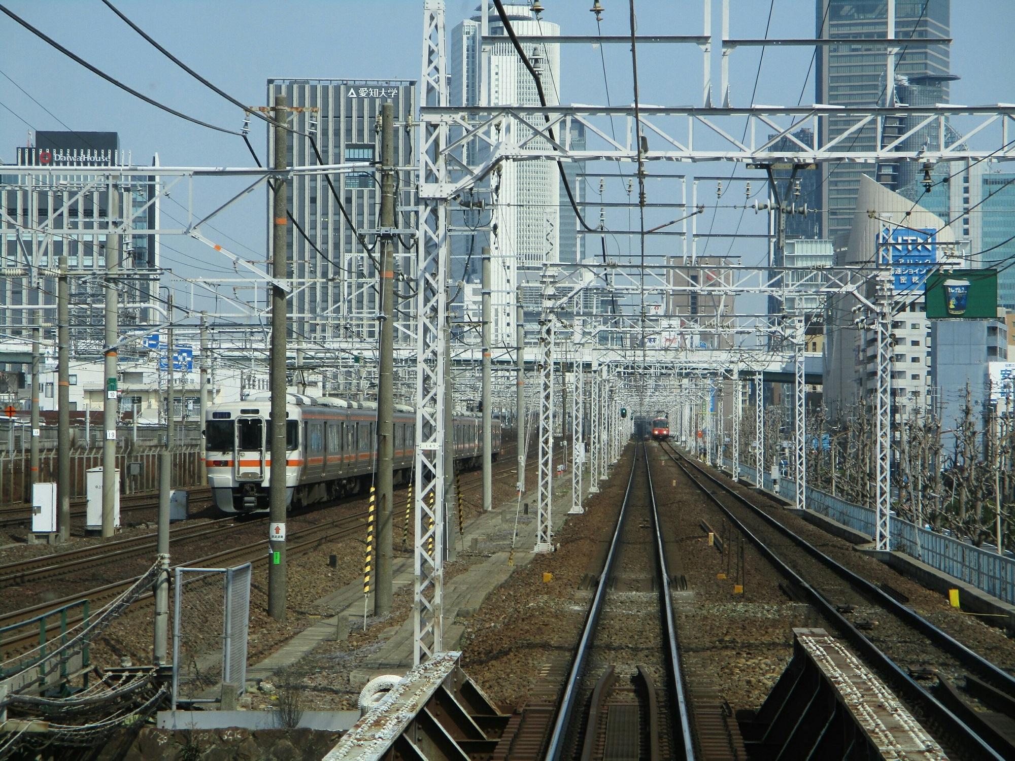 2019.3.27 (51) 弥富いき準急 - 山王名古屋間(東海道線電車) 2000-1500