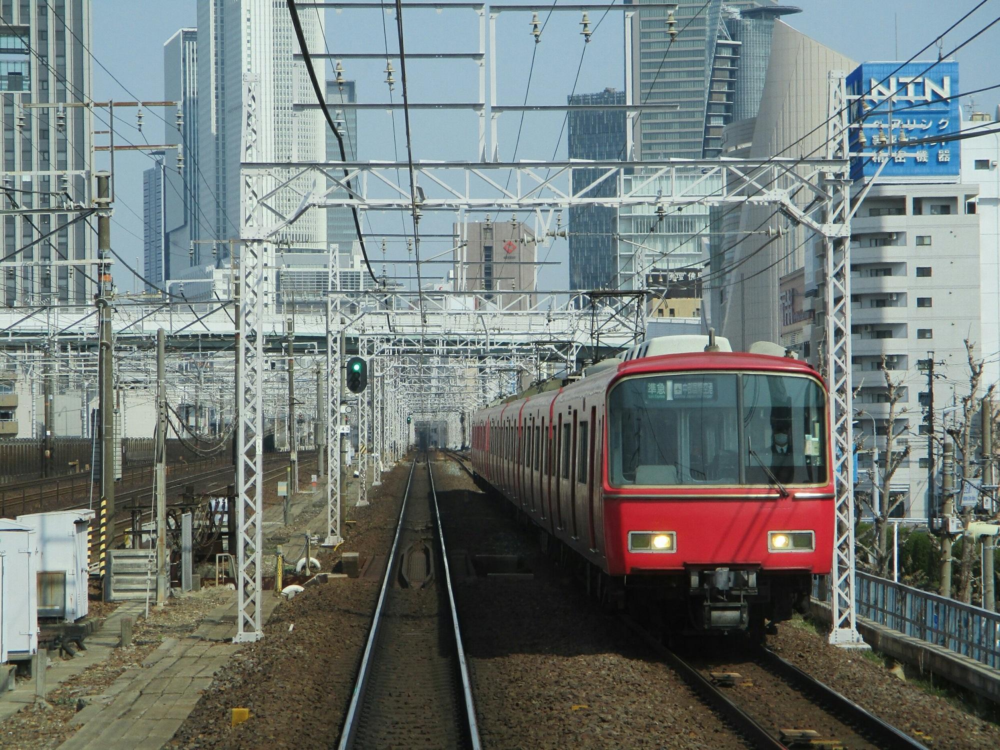 2019.3.27 (52) 弥富いき準急 - 山王名古屋間(セントレアいき準急) 2000-1500
