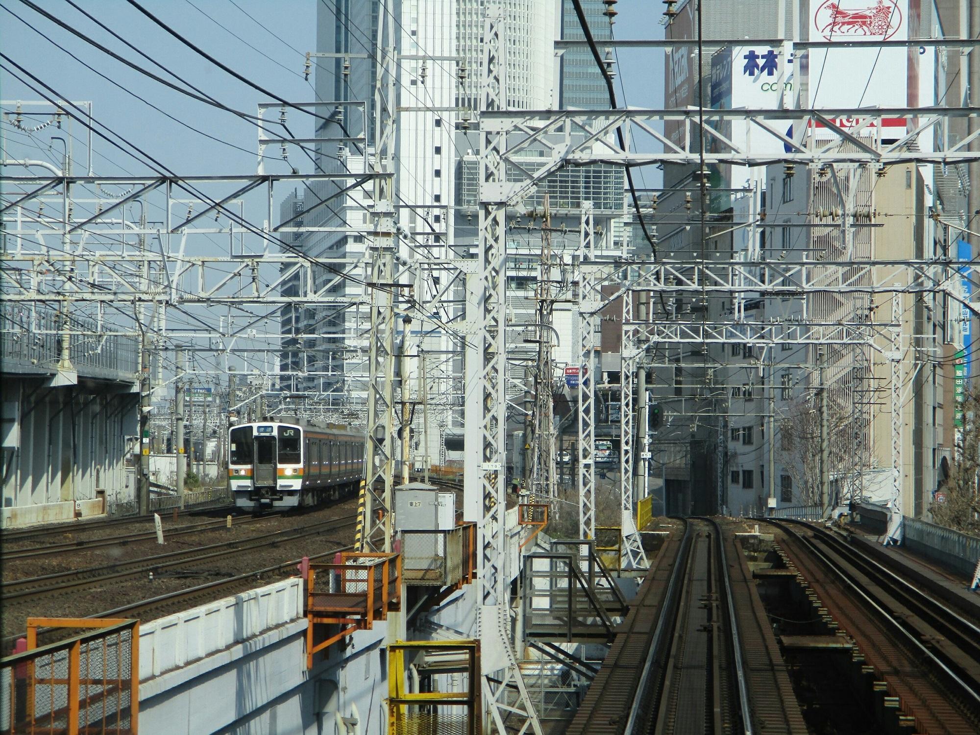 2019.3.27 (53) 弥富いき準急 - 山王名古屋間(中央線電車) 2000-1500