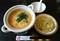 2019.3.27 (1001) 浜木綿 - オマールえびのクリームスープと中華麺 1530-1040