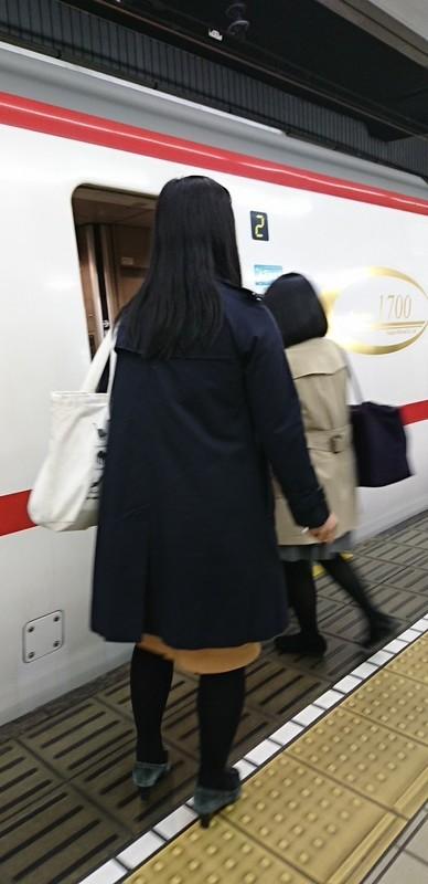 2019.3.27 (1003) 名古屋 - 豊橋いき快速特急 620-1280