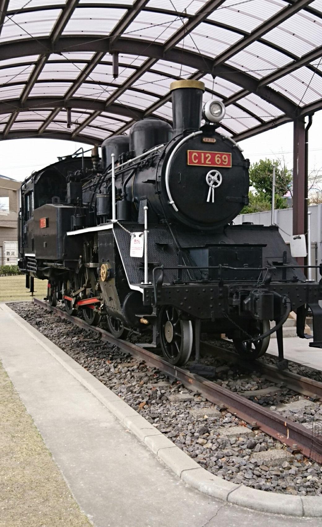 2019.3.28 (10) あんじょうし - 蒸気機関車C12-69(ななめまえ) 1040-1700