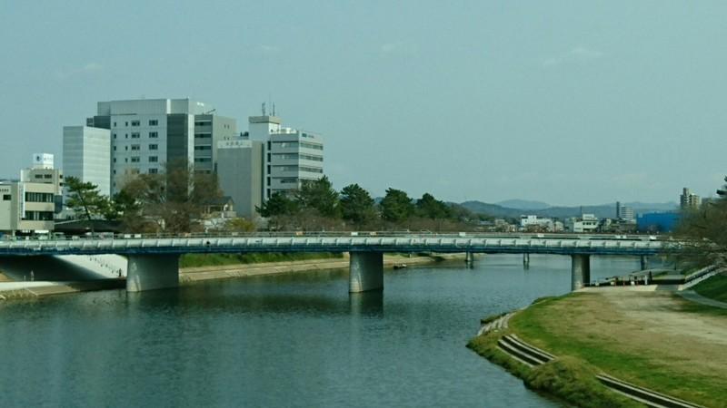 2019.3.29 (20) 殿橋から桜城橋をみる 1440-810